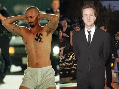 Edward Norton American... Autors: dzelksnis Celebrity Movie Transformations