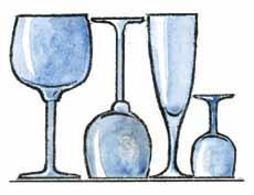Vīna un šampanieša glāzes... Autors: Graustu Miljonārs Mazas viltības