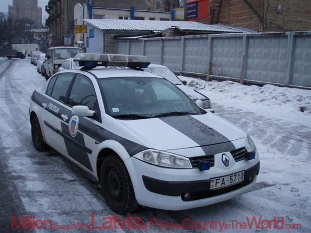 RenaultnbspMegane Autors: artursk2008 Policijas pravietošanas līdzeklis Latvija!