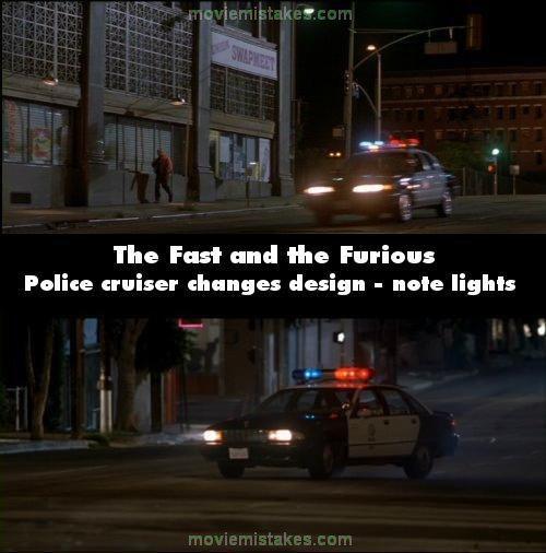 Policijas mascaronīna maina... Autors: Senču Lācis Ātrs un Bez Žēlastības - Kļūdas (Fast & Furious)