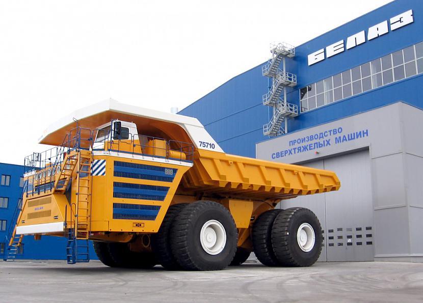 nbsp nbspProti scaronis... Autors: Mao Meow Belaz 75710 - Lielāka kravas mašīna pasaulē!