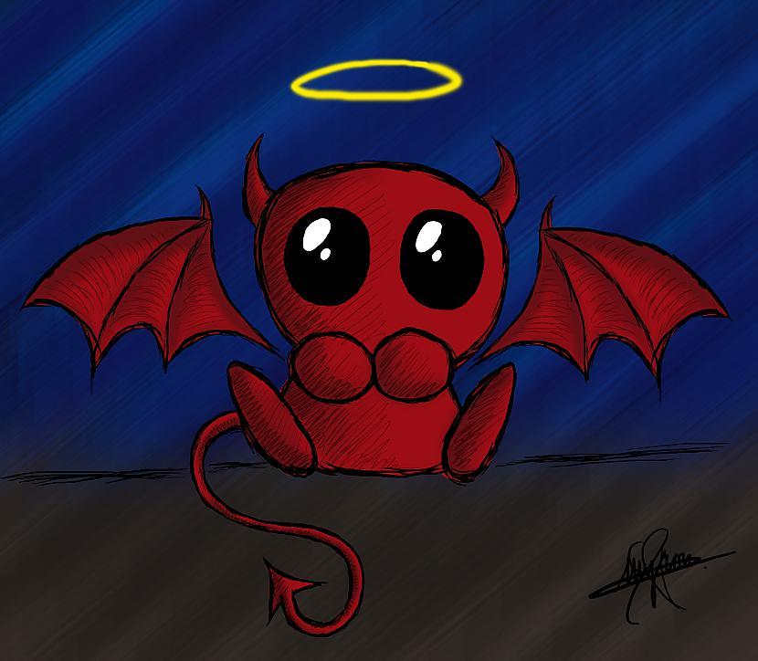 Картинки прикольный демон