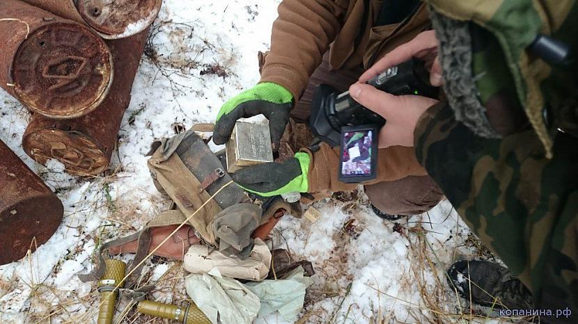 Kastīte ar 100 detonatora... Autors: pyrathe Mežā atrasta slēptuve vācu diversantiem WW2