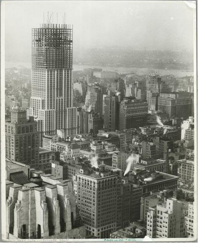 Empire State ēka 1931g Ēka... Autors: Lestets Pasaules ikoniskās būves pirms to pabeigšanas