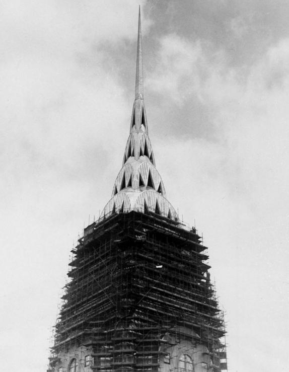 Kraislera ēka 1930g Klasisks... Autors: Lestets Pasaules ikoniskās būves pirms to pabeigšanas