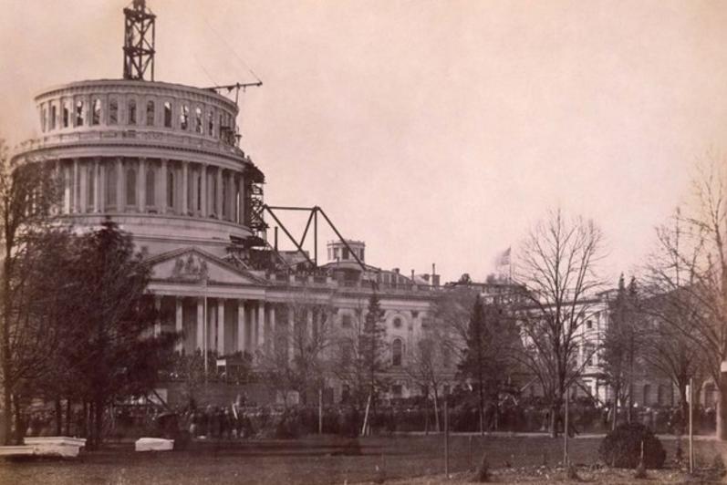 ASV Kapitolija ēka 1861g ASV... Autors: Lestets Pasaules ikoniskās būves pirms to pabeigšanas