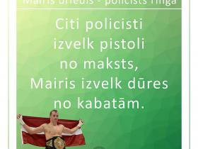 Mairis Briedis - policists ringā