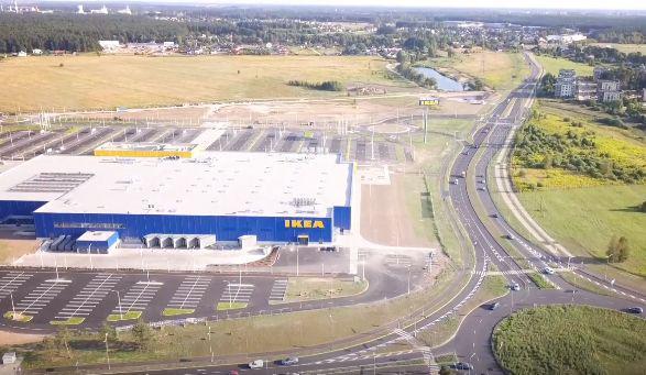 IKEA būvniecība pabeigta (Jūlijs 2018) Rīga, Latvija ...