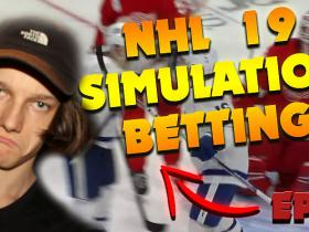 NHL 19 Simulating Games To Bet IRL