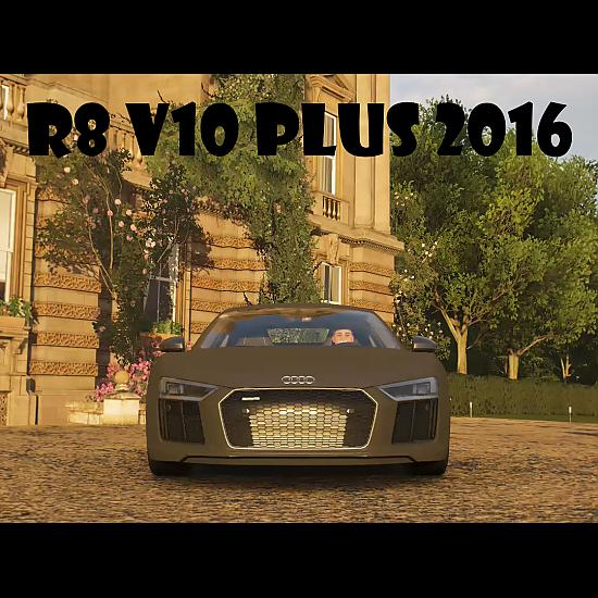 Forza Horizon 4: Audi R8 V10 Plus 2016
