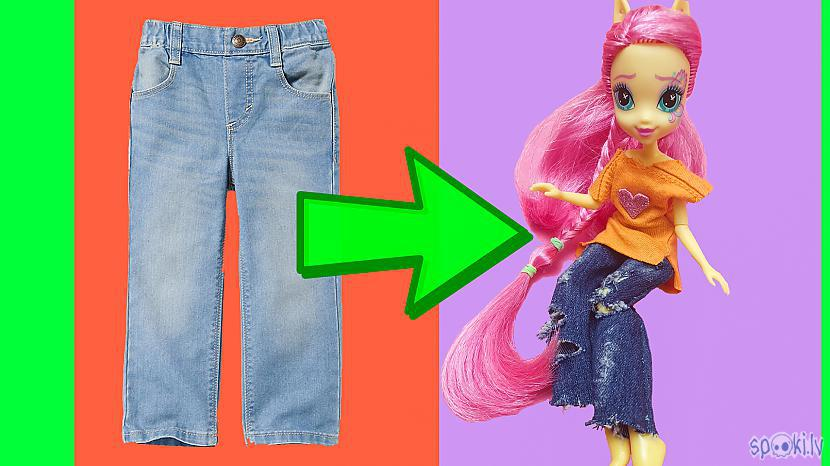 Autors: Ordets Valia What to do with your daughter and old jeans