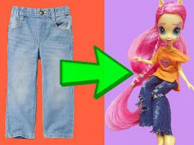 What to do with your daughter and old jeans